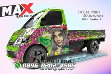 sticker decal gran max pickup maxgraphica cutting sticker sidoarjo
